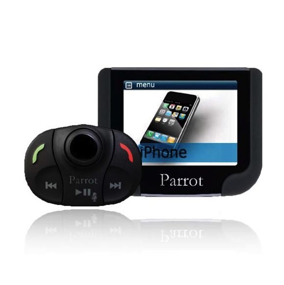 how to play music through parrot mki9200